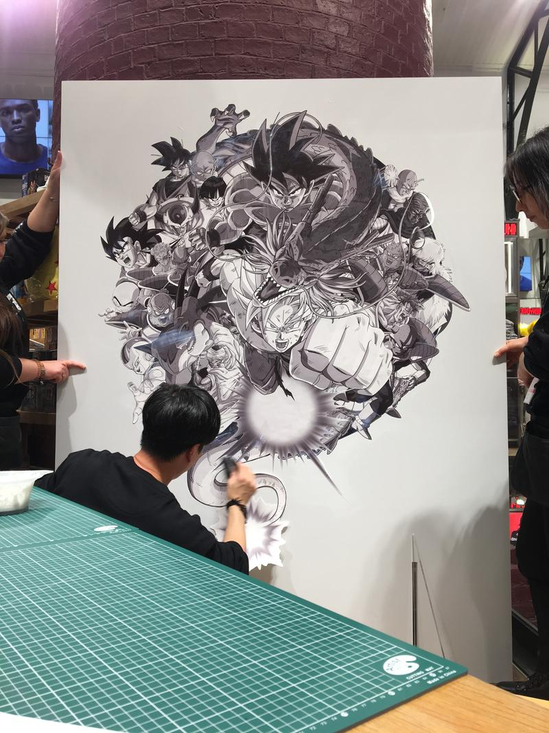Photos Uniqlo UT x Dragon Ball