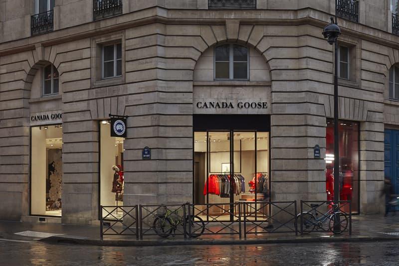 Canada Goose boutique photos