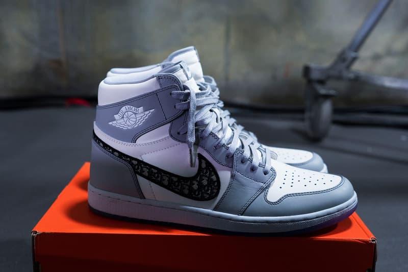 Photo Dior x Air Jordan 1