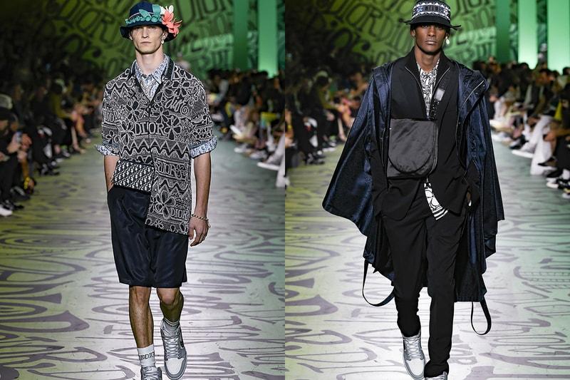 Revivez le défilé Automne 2020 de Dior, marqué par les collabs avec Jordan et Shawn Stussy