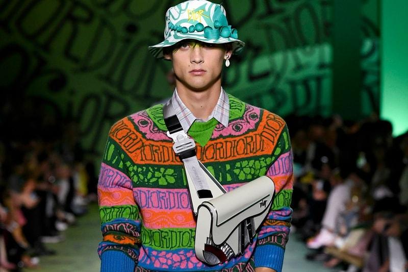 L'autre collaboration du défilé Fall 2020 de Dior que vous n'avez peut-être pas remarquée