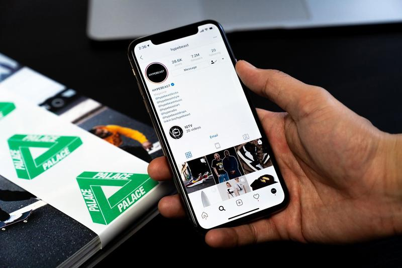 Photos smartphone Instagram