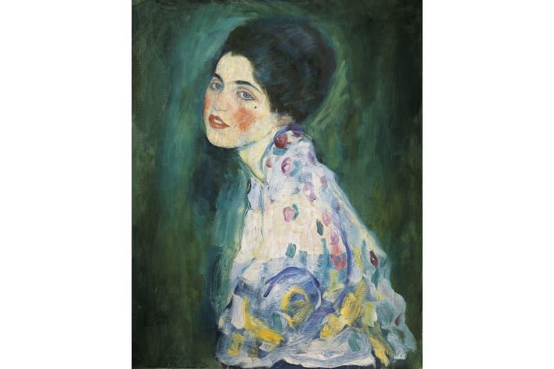 Gustav Klimt Portrait of a Lady