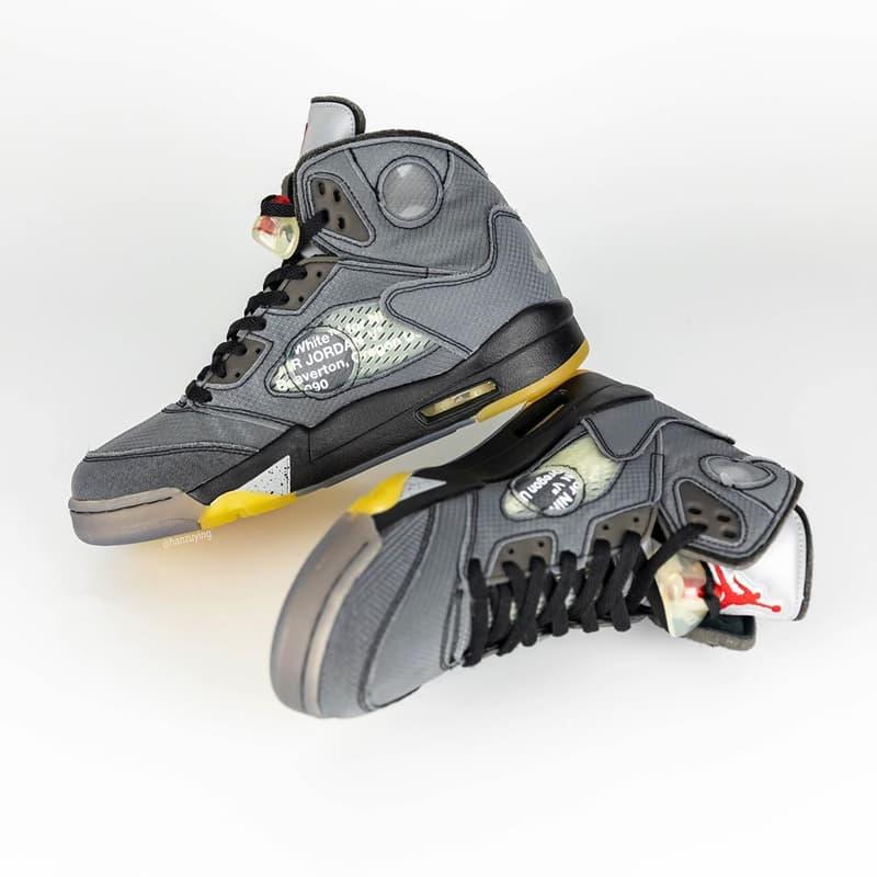 Photo Off-White™ x Air Jordan 5