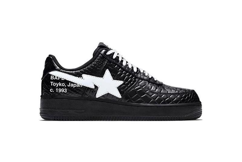 Photo Off-White™ x BAPE STA
