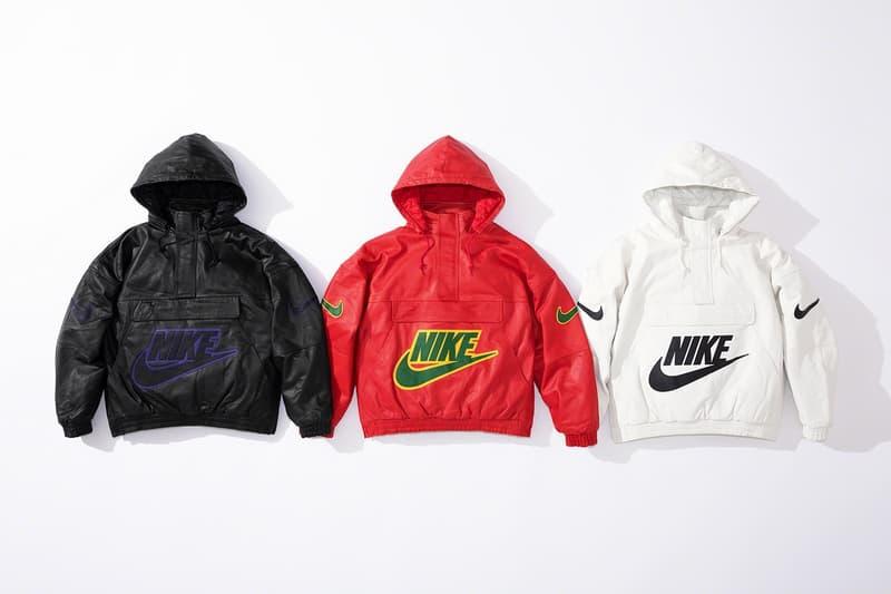 Photo Supreme x Nike cuir