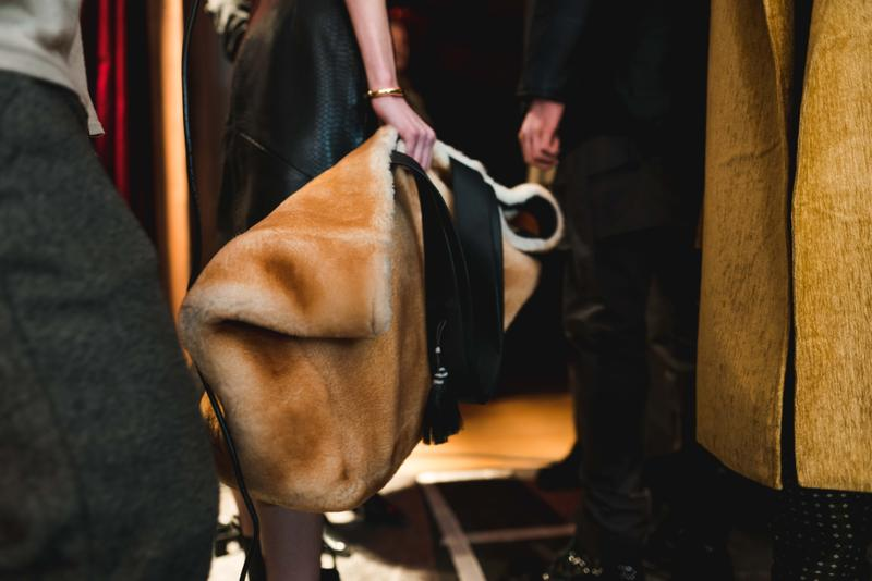 RHUDE backstage paris fashion week