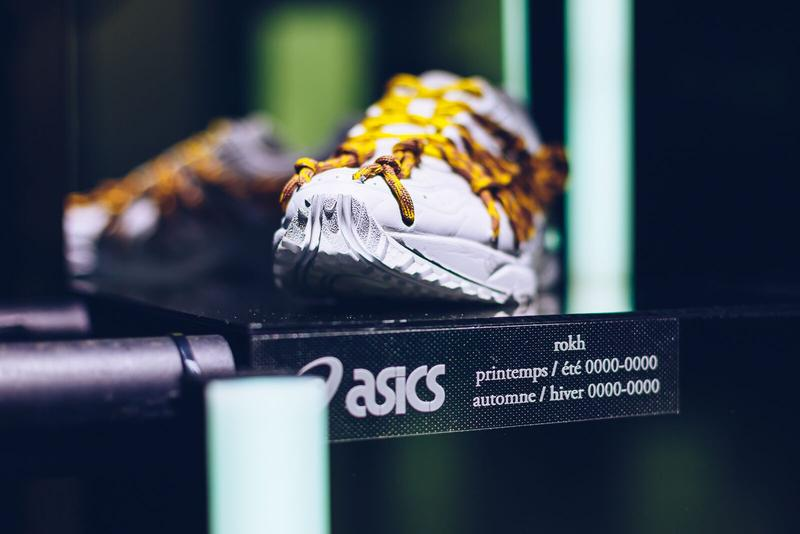 Photos Asics x Rokh