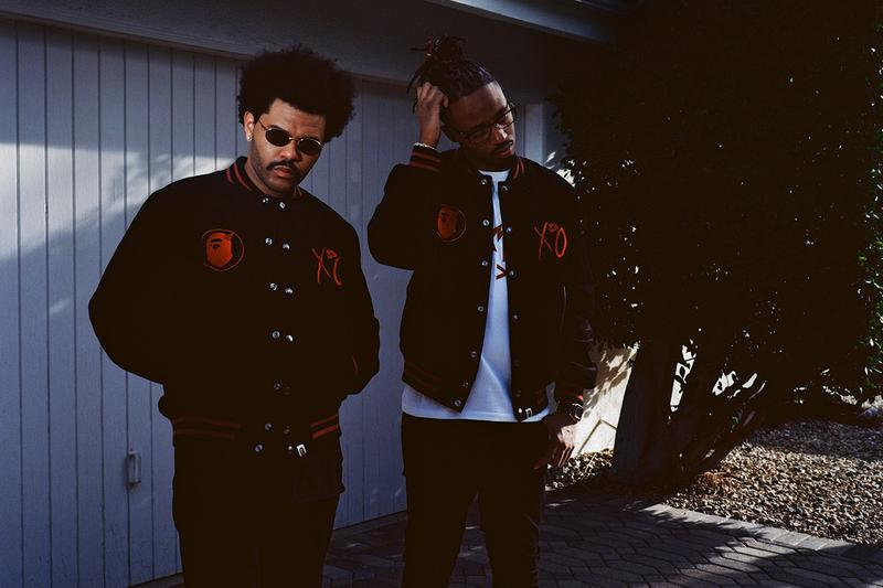 BAPE The Weeknd collection