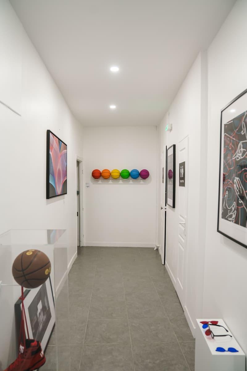 Photo expo basketball Trajectoire Studio
