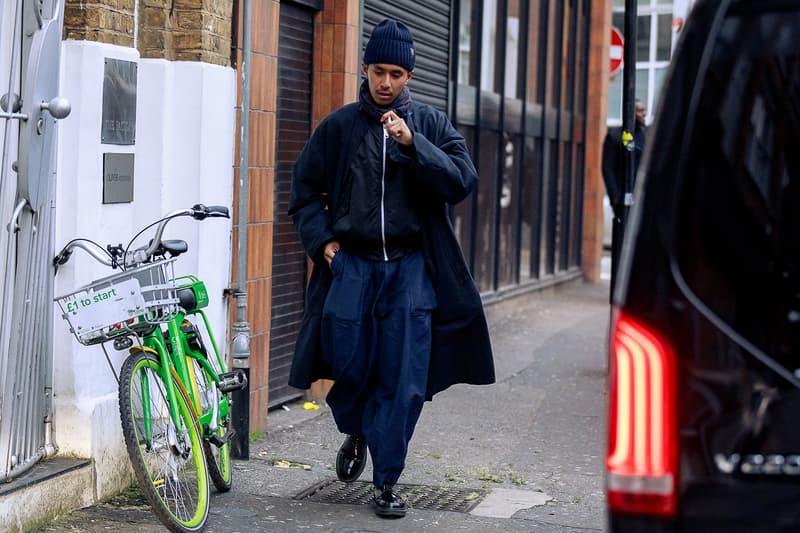 Fashion Week Londres streetstyles