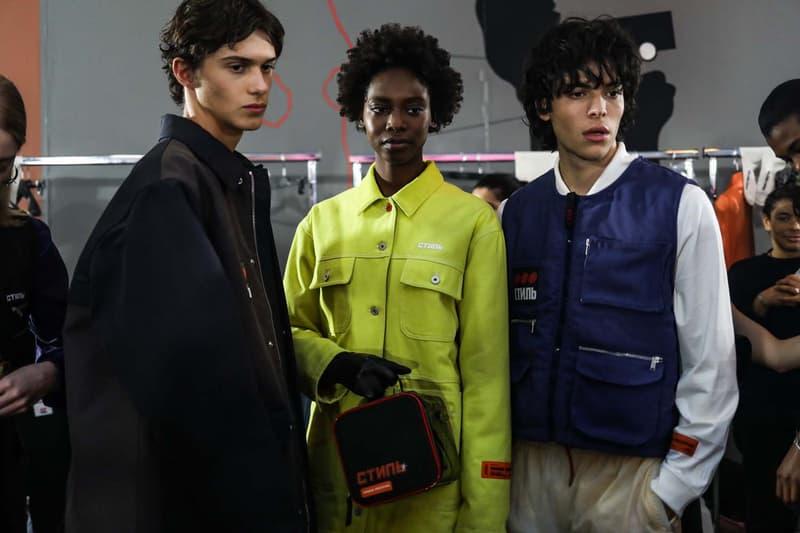 Photo Heron Preston Fashion Week