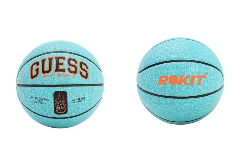 Guess, ballon basket