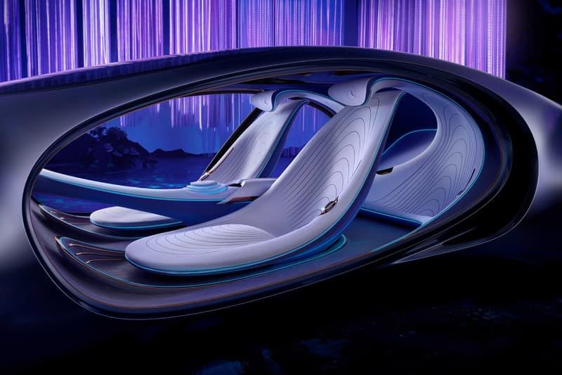 Photos VISION AVTR Mercedes-BENZ