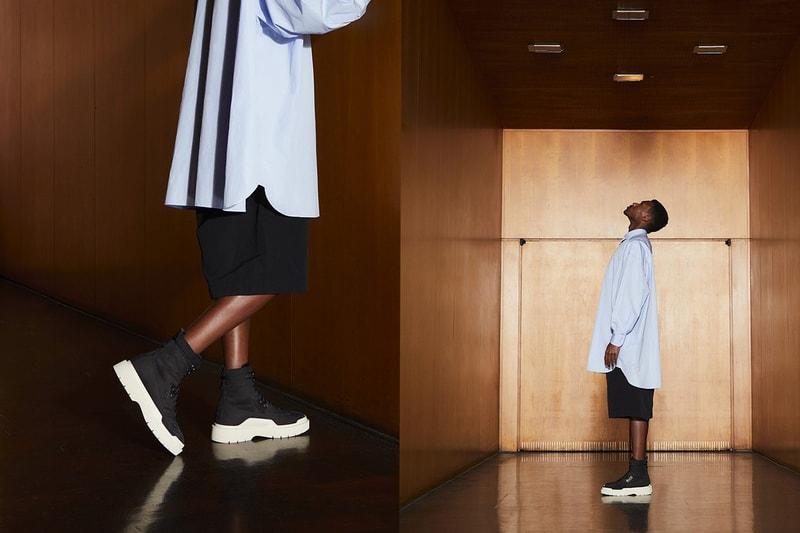 Casbia propose une chaussure de ville inspirée de l'uniforme militaire