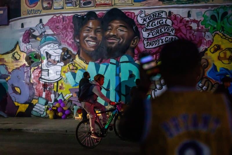 Photos Kobe Bryant street art