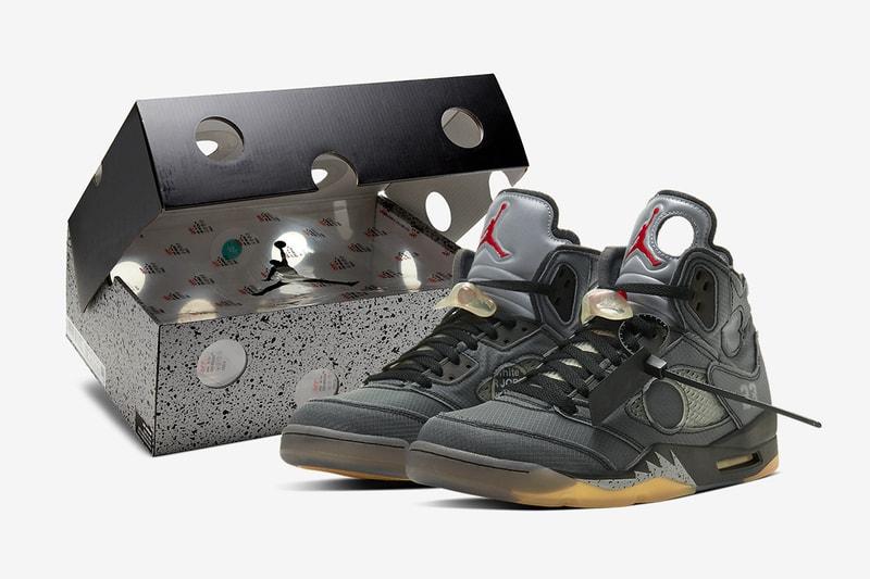 Les images officielles de la Off-White™ x Air Jordan 5