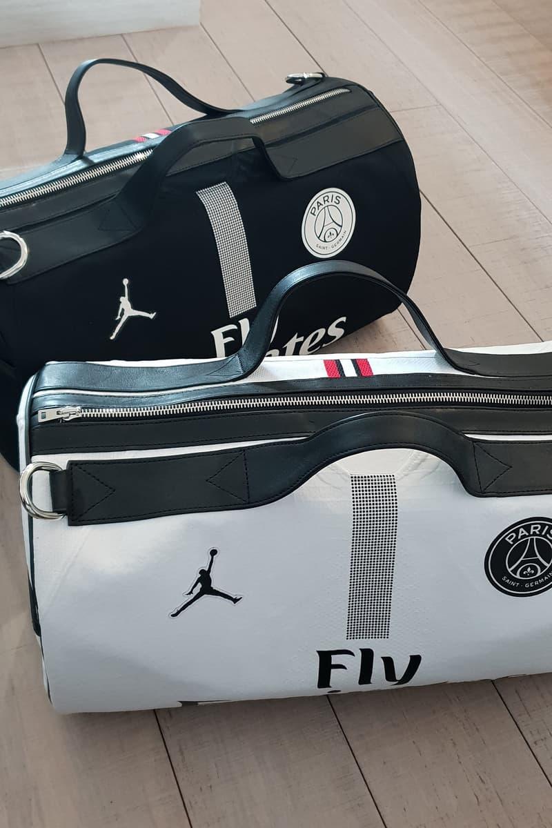 Photo sacs PSG x Jordan