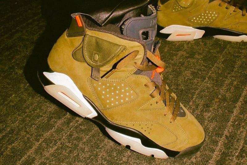 "Photo Travis Scott x Air Jordan 6 ""Yellow Cactus Jack"""