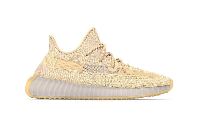 "Photo YEEZY BOOST 350 V2 ""Flax"" et ""Linen"""