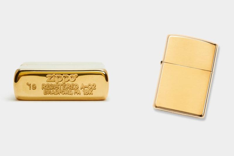 Le Zippo en or massif de 18 carats à 10 000 dollars de Best Made Co.