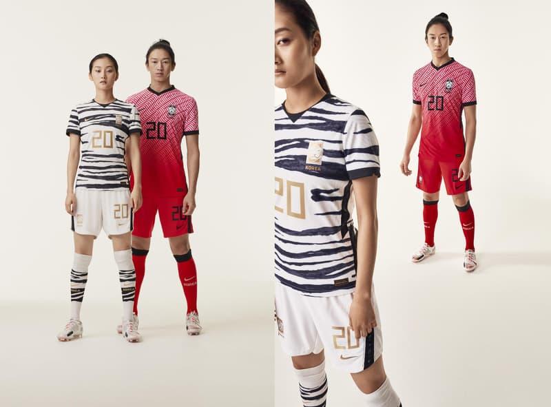 Photo maillots Nike football JO2020