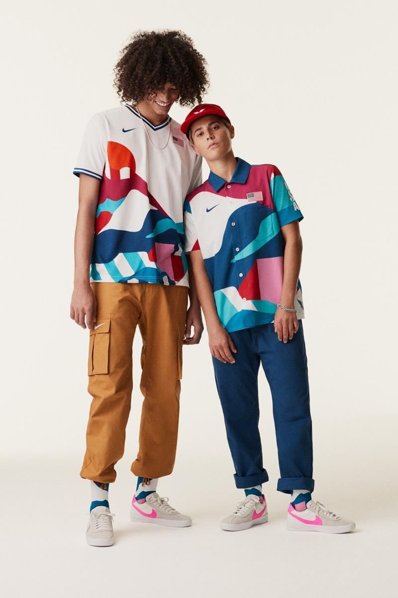 Photo Nike x Parra skate