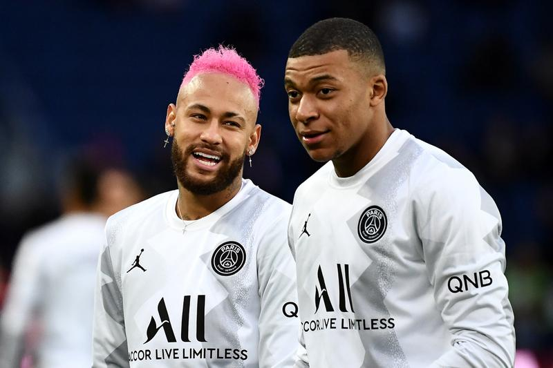 Photos Neymar x Mbappé