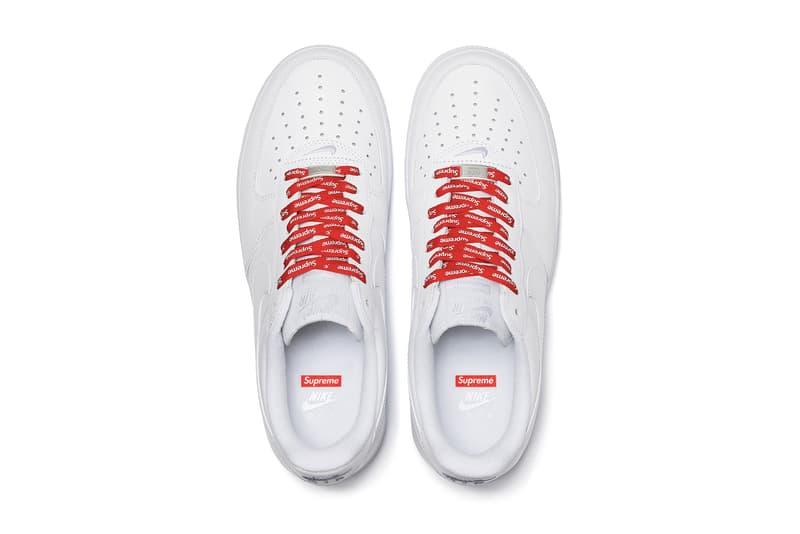 Photo Supreme x Nike Air Force 1