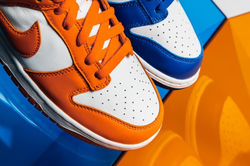 "Photo Nike Dunk Low ""Kentucky"" et ""Syracuse"""