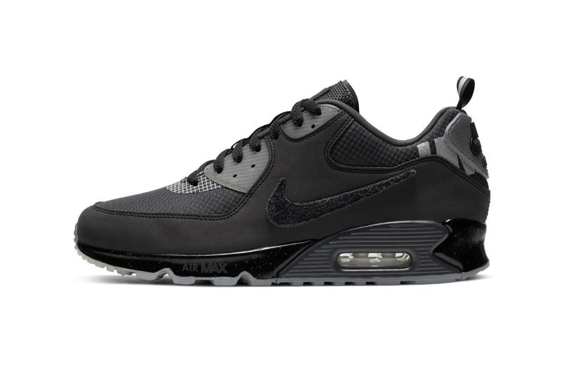 "Photo UNDEFEATED x Nike Air Max 90 ""Black"""