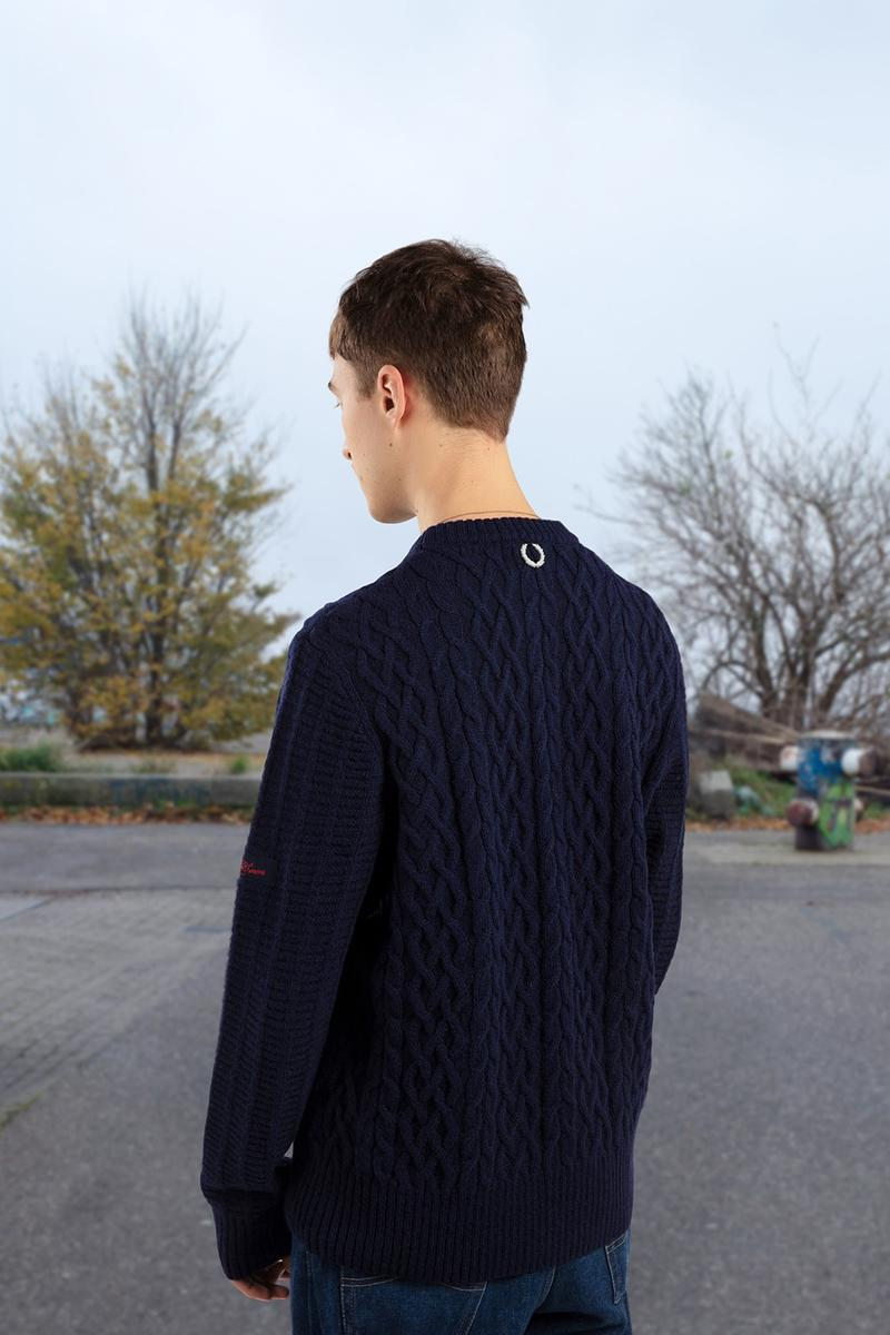 Photo Raf Simons x Fred Perry