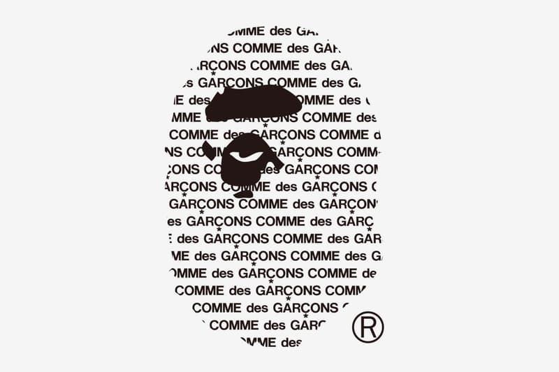 Photo BAPE x COMME des GARÇONS