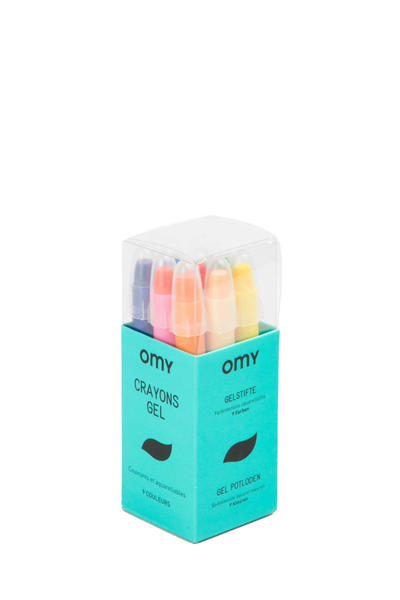 Omy Jewelry Stationery set christmas crayons magic plastic poster