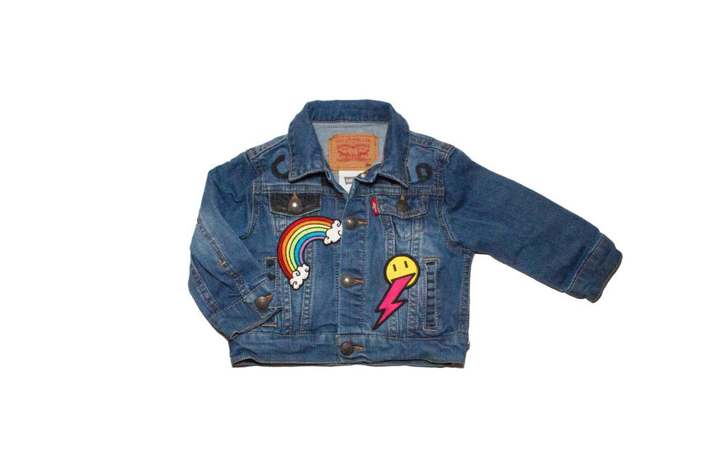 The Tot Levis Exclusive Trucker Jacket denim limited