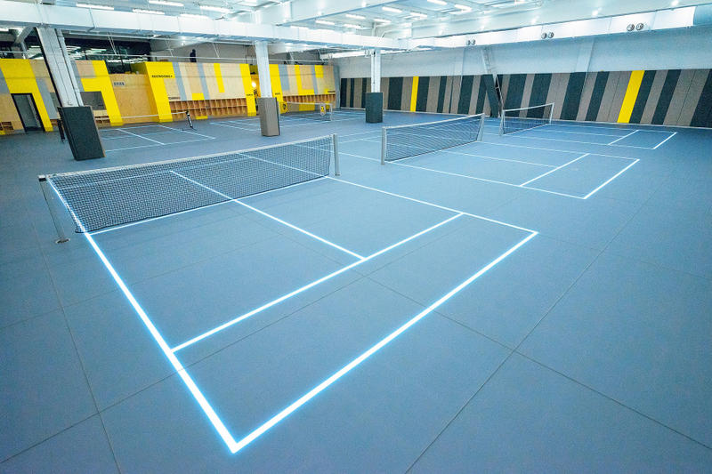 Court 16 Long Island City Queens New York LED tennis kids childrens special needs