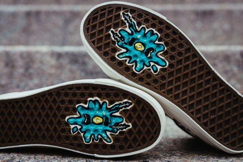 Vans spongebob squarepant vault authentic mid sk8 skate hi patrick plankton nickelodeon