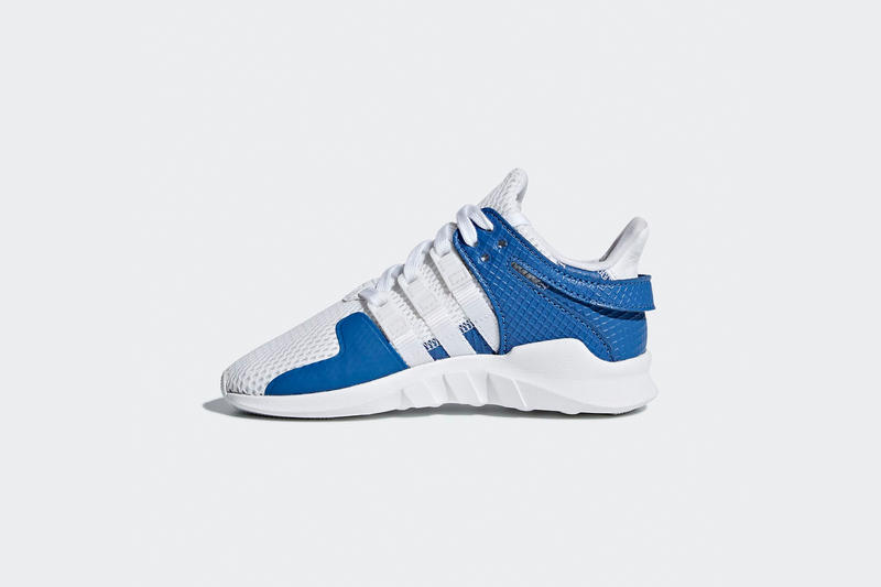 adidas sports EQT Support ADV black blue sneakers kids children 2018 white