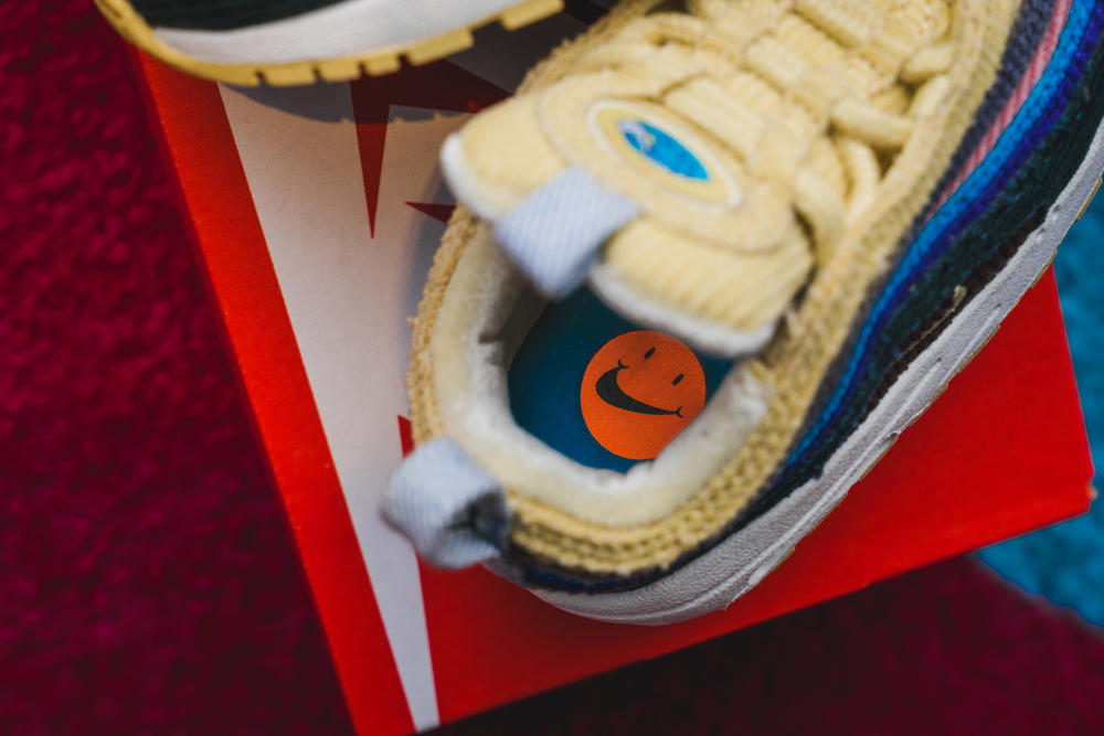 sean wotherspoon nike air max day 97/1 infant sizes unboxing first look closer look baby kids toddler shoes release date corduroy ninety seven one 1/97