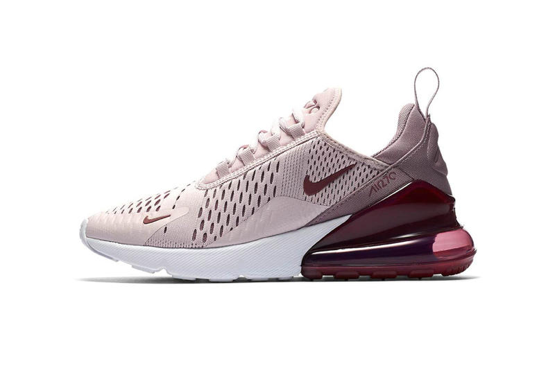 nike air max 270 barely dusty rose kids toddlers release date pink purple millennial pastel shoe sneakers children swoosh
