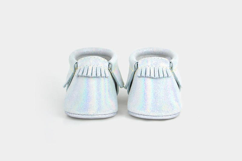 freshly picked moccasins sale shoes baby sizing sale leather shower online gold fp cute best babies kids children newborn magical hologram