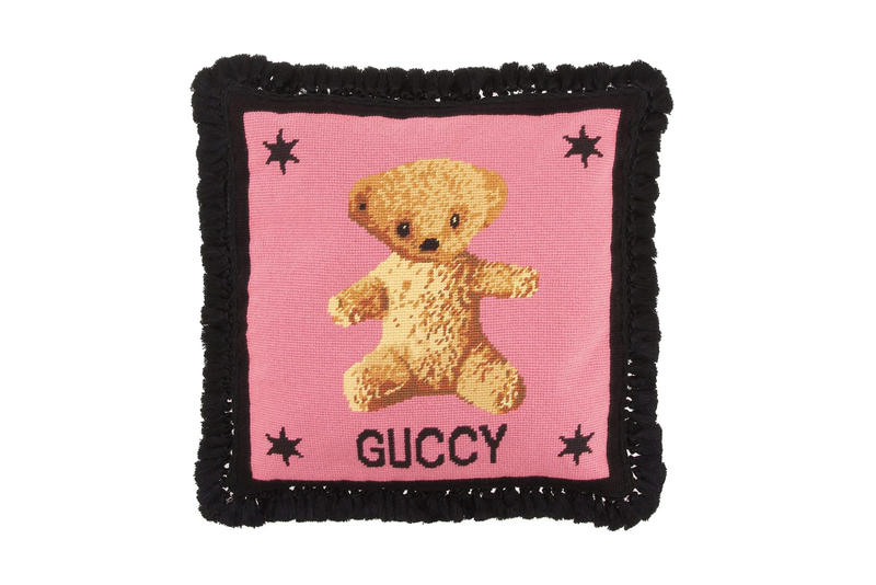 gucci home velvet cushions candles release date where to buy mytheresa shop online