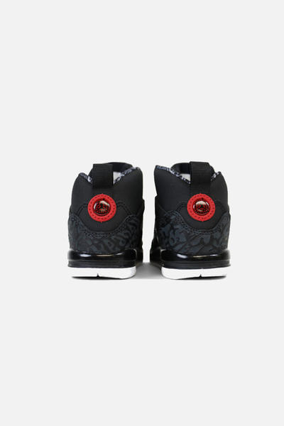 nike air jordan spizike baby indant toddler shoe sneaker black red green spike lee where to buy shop online