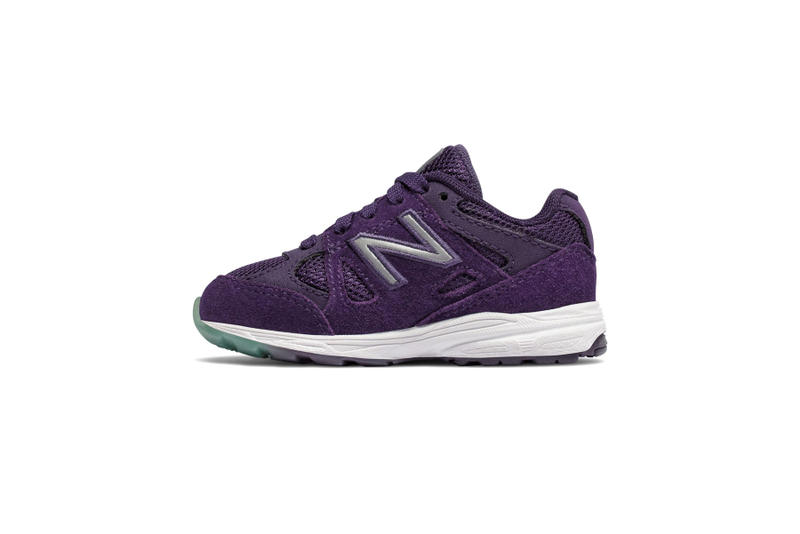 new balance kids 888 sneaker shoe toddlers infants purple pink rainbow where to buy shop online