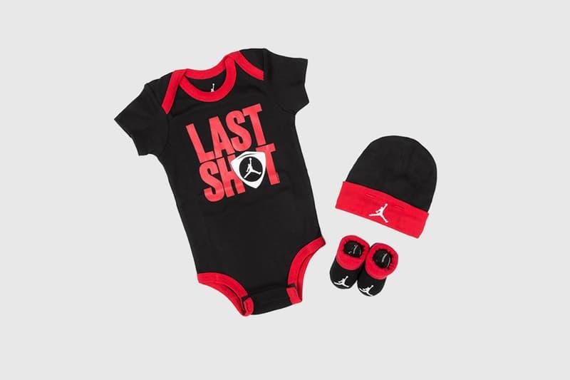 nike air jordan 14 last shot retro black red bred jumpman nike baby infant toddler booties hat romper