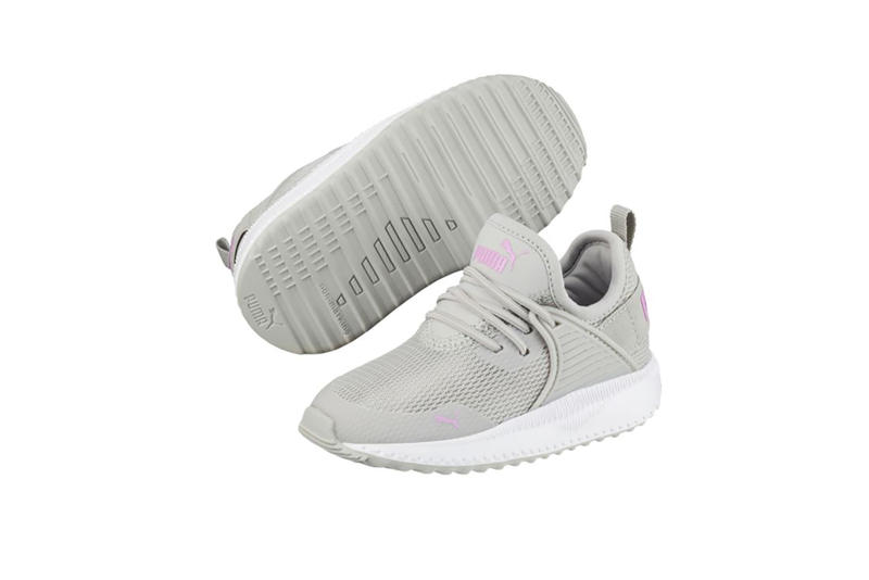 puma childrens kids infant toddler shoes sneakers trainers tennis red blue white pink peacoat gray violet orchid pomegranate