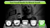 TEXT YOSELF BEEFO YO WRECK YOSELF -- With Lizard King