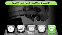 TEXT YOSELF BEEFO YO WRECK YOSELF -- With Jeron Wilson
