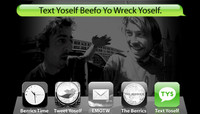 TEXT YOSELF BEEFO YO WRECK YOSELF -- With Frank Gerwer and John Alden