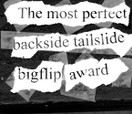 PROJECT GRANITE 3. The Perfect Backside Tailslide Bigflip Award